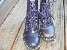 Dr. Martens Doc Martens Stiefel Damen Boots lila UK 5 /38 Leder Air Wair 8-Loch