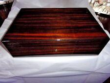 Elie Bleu Macassar Ebony Humidor 110  Count new in original box