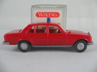 "Wiking 12600 Mercedes-Benz 240 D Limousine (1976) ""FEUERWEHR"" 1:87/H0 NEU/OVP"
