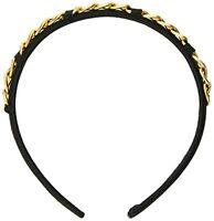 Caravan Gold Metal Chain Links Decorate Headband A Very Unique Combination