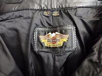 Harley Davidson Women's Bike Riding Black Leather Pants (W 32/34)