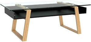 bonVIVO Black Coffee Table Donatella - Designer Coffee Tables for Living Room