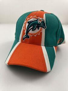 Miami Dolphins Hat Baseball Cap Mens Adult NFL Football Adjustable Reebok