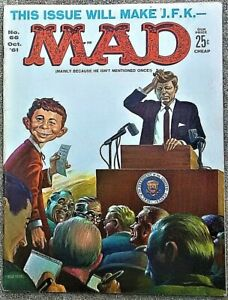MAD Magazine #66 Oct 1961! FINE! 6.0 $.99! SMOOTH! TIGHT! A GREAT-LOOKING Copy!
