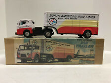 North American Van Lines, Tin, Friction, Vintge 1950's?, with Box