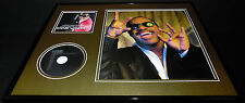 Stevie Wonder 16x20 Framed Icon Cd & Photo Display
