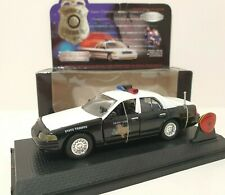 ROAD CHAMPS 1/43 Police Edition Limitée 1999 Ford Crown Victoria Safety