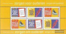 Pays-Bas Bloc 55 (complète edition) neuf avec gomme originale 1998 Seniorenarbei
