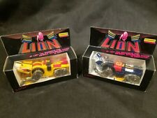 2 Vintage 1981 Voltron (1) Yellow (1)Blue Lion Chogokin Diecast Import Boxed NEW