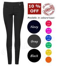 Pantalones de niña de 2 a 16 años negro