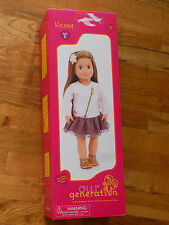 """Our Generation Vienna 18"""" Doll New in Box"""