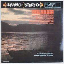 FINLANDIA: Grieg, Sibelius RCA LIVING STEREO LSC-2336 180g Audiophile Classic LP