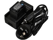 Battery + Charger for BP-709 BP-718 BP-727 BP-745 LEGRIA VIXIA iVIS R42 R600 R57