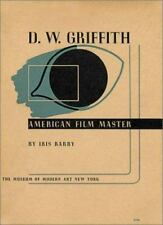 D.W. Griffith:  American Film Master Barry, Iris, Griffith, D.W. Hardcover