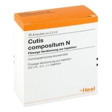 Talón Cutis Compositum 10 amperios los remedios homeopáticos