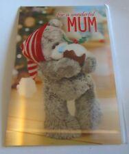 Me To You Xmas Cards for Mum, Mummy including 3d