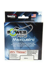 Power Pro Maxcuatro Spectra White Braided Line Strong Braided Fishing Line