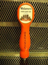 WOLAVERS BREWING Co Vermont ~ Certified Organic IPA ~ Beer Tap Handle