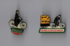 lot de 2 Pin's Panzani / Don Patillo (des pates oui mais des panzani)