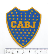 Argentina Boca Juniors CABJ soccer football iron-on embroidered patch emblem tw