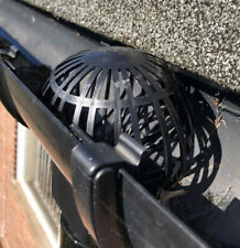 Gutter Downpipe Pipe Filter Balloon Guard Leaf and Debris Protection (Set of 4)