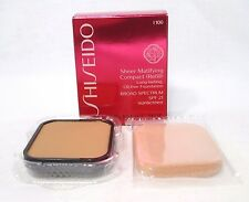 Shiseido Sheer Matifying Compact SPF 21 (Refill) ~ I 100 ~ .34 oz. ~ BNIB