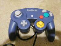 Official Genuine OEM Nintendo GameCube Controller Pad (INDIGO) *TESTED* NICE