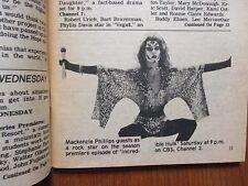 September 16, 1979 Santa Ana, Ca. Register TV Magaz(MACKENZIE PHILLIPS/BOB HOPE)