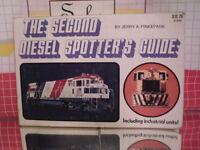 Second Diesel Spotter's Guide by Jerry A. Pinkepank (1973 Kalmbach Paperback)