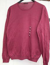 Pullover  Joop!  Gr. XL - 54 Rundhals - weinrot -  Neuware