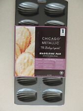 Chicago Metallic 12-Cup Nonstick Madeleine Pan Cookie Shaper Cake Mold Molding