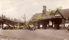 Eccles Railway Station Photo. Weaste - Patricroft. Manchester to Astley Line (2)