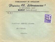 Burgy 71 - Etablissement de Viticulture - Pépinières Cl. Létourneau