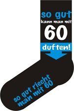 Strümpfe Socken Fun Sox So gut kann man mit 60 duften! Neu