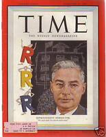 1950 Time February 20-Wheaton College Revival; Henry J