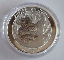 2013 Australian Koala $1 UN DOLLARO-1 oz oncia 999 silver LINGOTTO D'ARGENTO