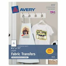 "Avery Iron-on Transfer Paper - Letter - 8.50"" X 11"" - Matte - 18 / (ave8938)"