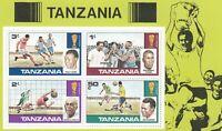 282229 / Fußball ** MNH BLOCK 11 Tanzania