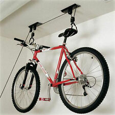 Biciclette Storage Rack BASEMENT Appesa Ganci GARAGE PULEGGIA Hoist BICI CICLO