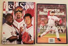 2007 MLB Baseball World Series Program & SI Boston Red Sox Champs