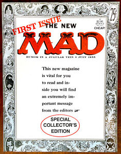 MAD Magazine #24 - 1988 Australian Reprint - NEAR MINT PLUS (9.6)