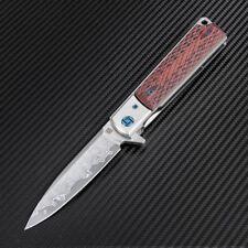 Couteau Artisan Classic Damas Acier Damas Manche Brown G-10/Damas ATZ1802GDBR