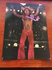 1980 Vintage 8X11 Magazine Print Photo Clipping Of David Lee Roth Of Van Halen