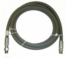 "3/8"" x 10' Grey 4,000 PSI Pressure Washer Jumper Hose"