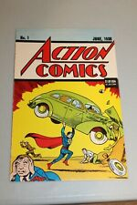 ACTION COMICS #1 1938 REPRINT 1992 1st Appearance Superman Key Book Holy Grail