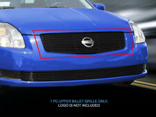 Fits 04-06 Nissan Sentra Black Billet Grille Upper Grill Insert Fedar