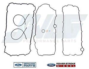 03-10 6.0 Powerstroke Diesel Genuine Ford Oil Pan Gasket Set F250 F350 F450 F550