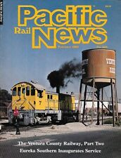 Pacific Rail News 255 feb.1985 Ventura County Railway Eureka südlichen McKeen