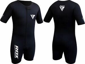RDX MMA Sauna Suit Neoprene Sweat Shirt Weight Loss Slimming Fitness Training X1