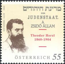 Autriche 2004 Theodor Herzl/auteurs/auteurs/sioniste/personnes 1 V (at1280)